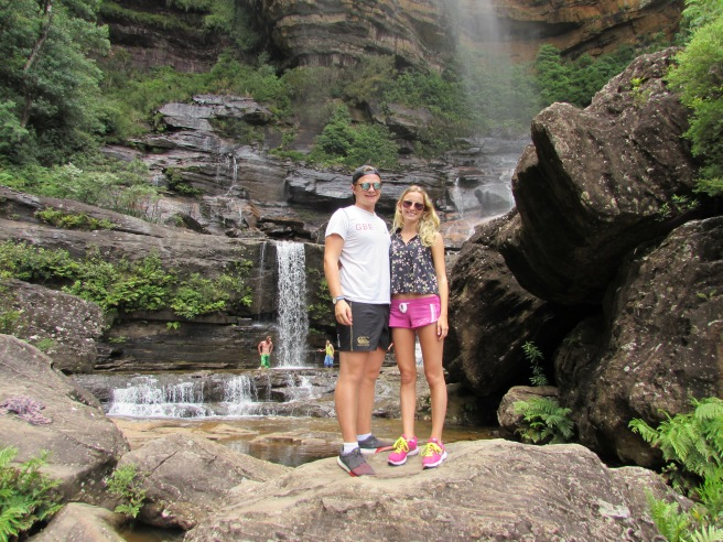 Couple Wentworth Falls
