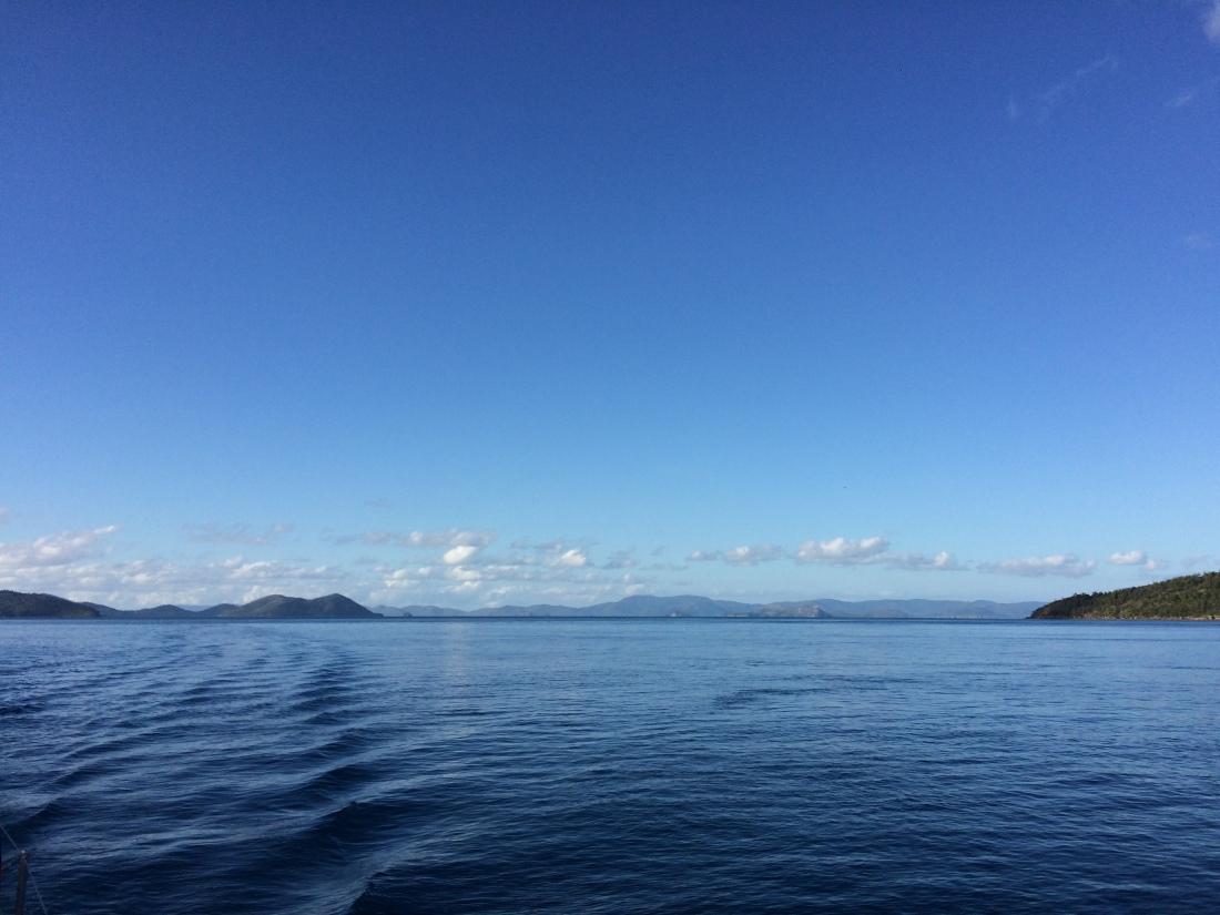 Whitsundays Sailing View