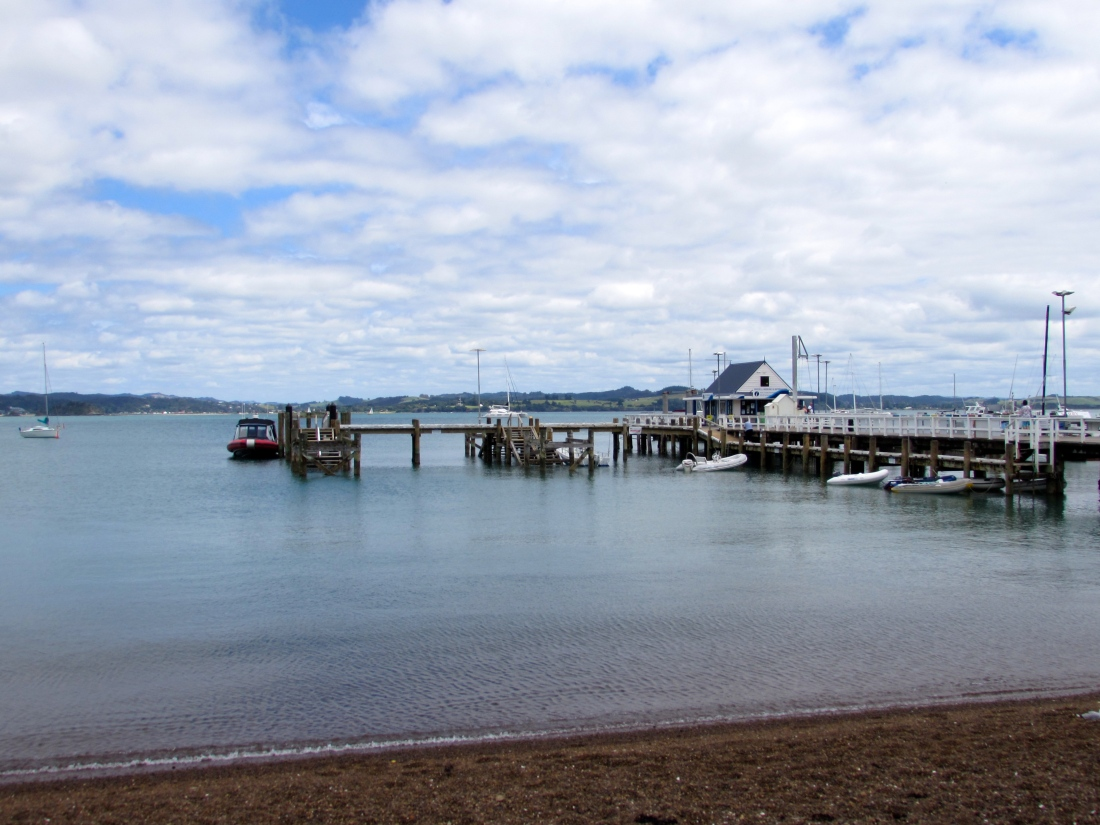 Port at Russell Bay of Islands