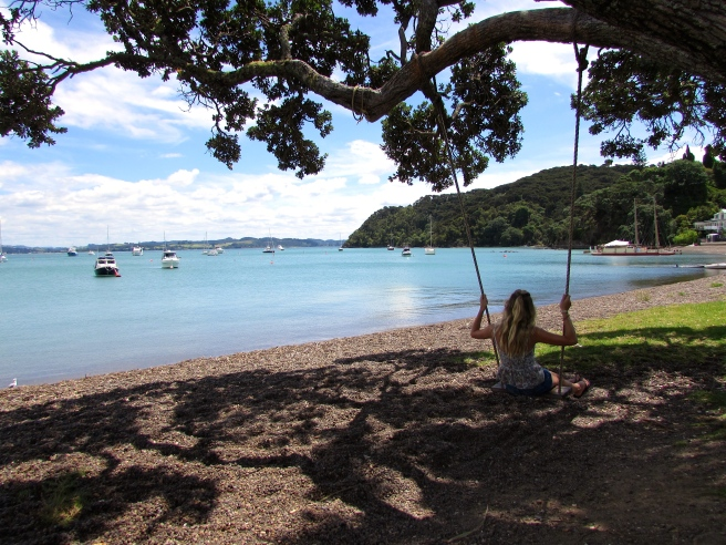 Swing in Russell New Zealand
