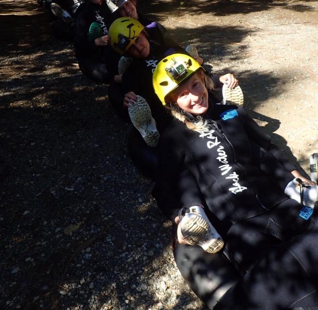 Black Water Rafting Co. Training Waitomo