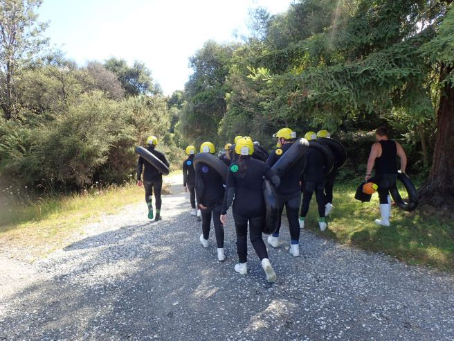 Caving in Waitomo