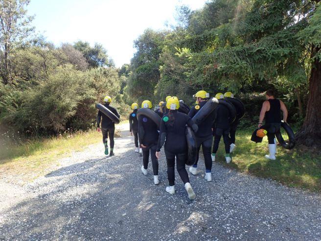 Caving in Waitomo