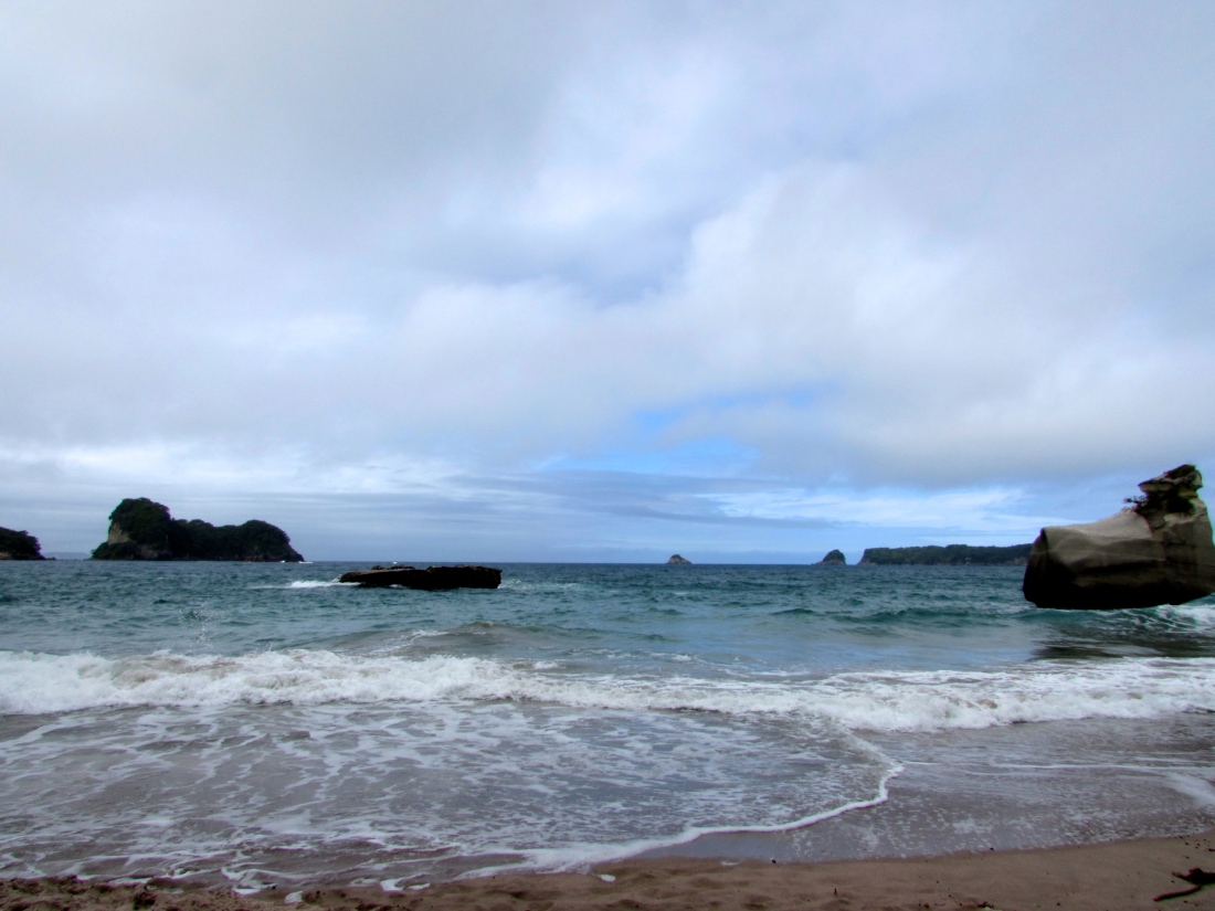 The Sea At Cathedral Cove