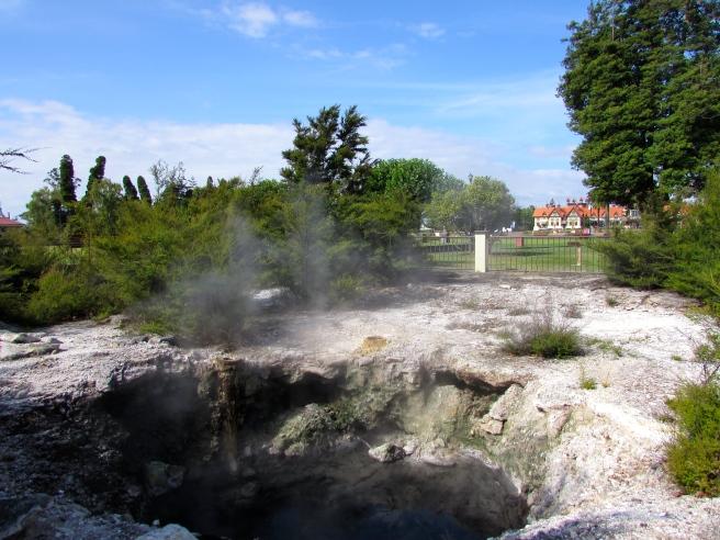 Rotorua Geothermal Activity