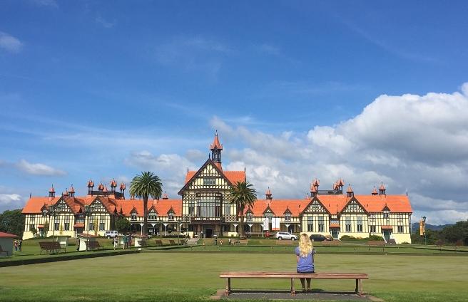 Rotorua Museum Government Gardens