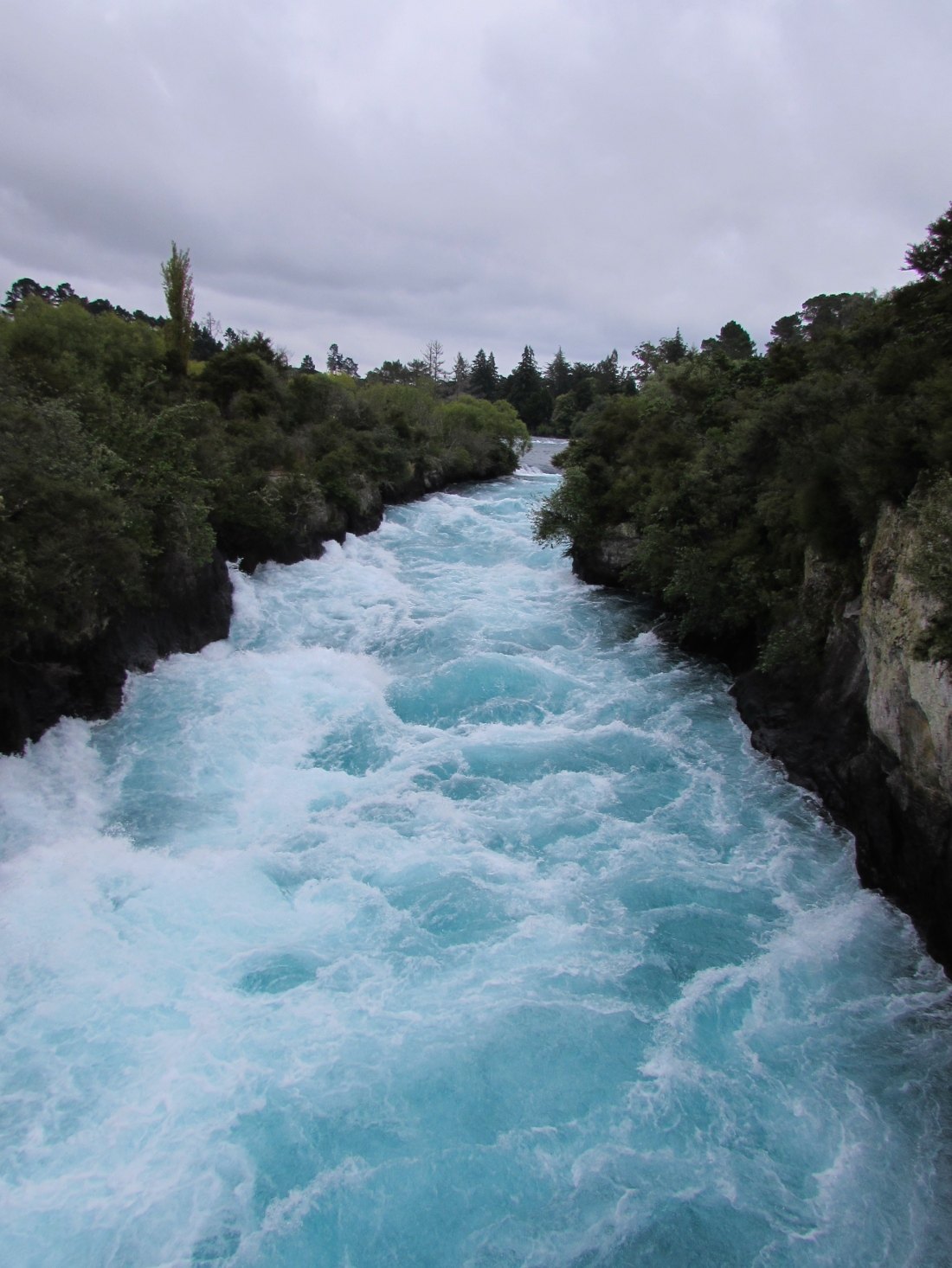 Huka Falls New Zealand Taupo