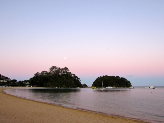 Sunset Kaiteriteri New Zealand