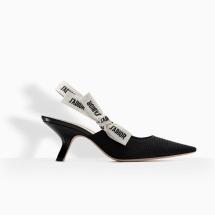 Dior Black Slingback