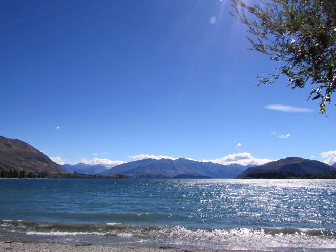 Wanaka New Zealand Sun Down