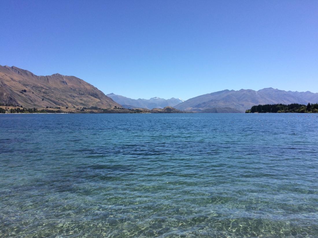 Lake Wanaka New Zealand Beauty
