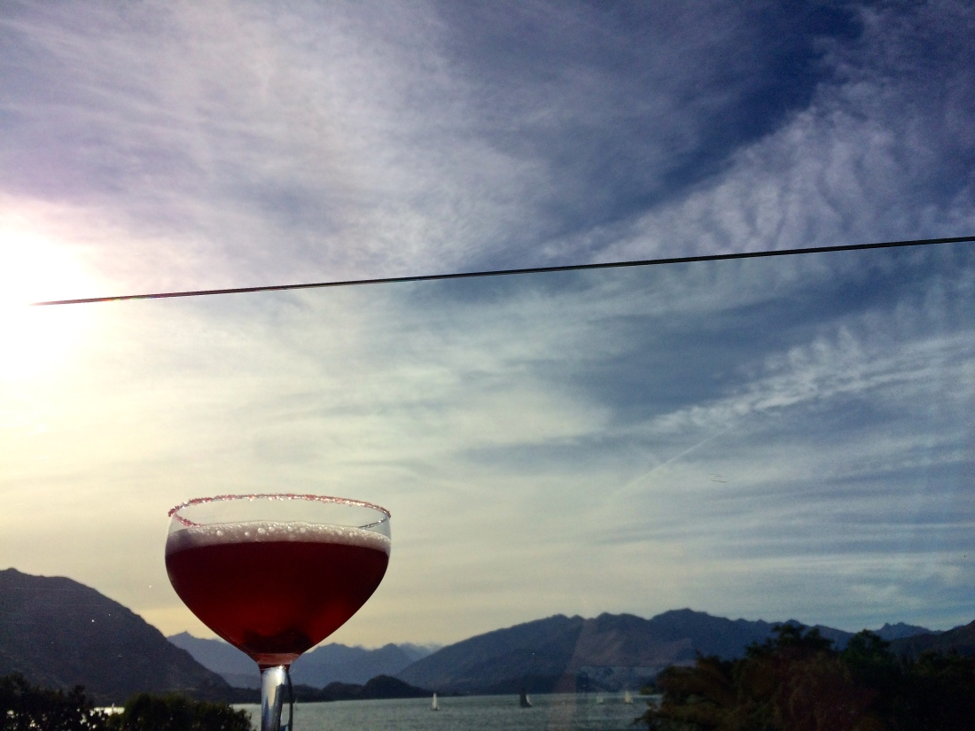 Cocktails in Wanaka